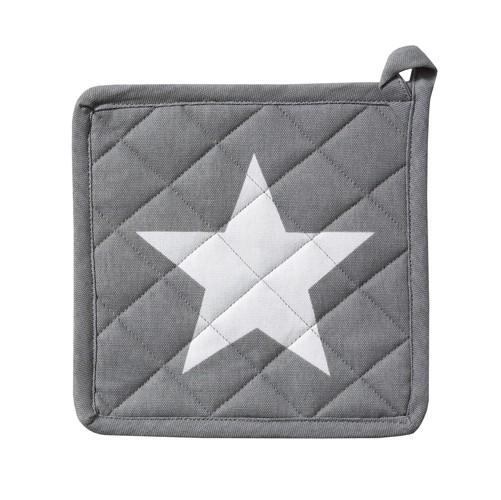Pannenlap Etoile | Grey | 20 x 20 cm