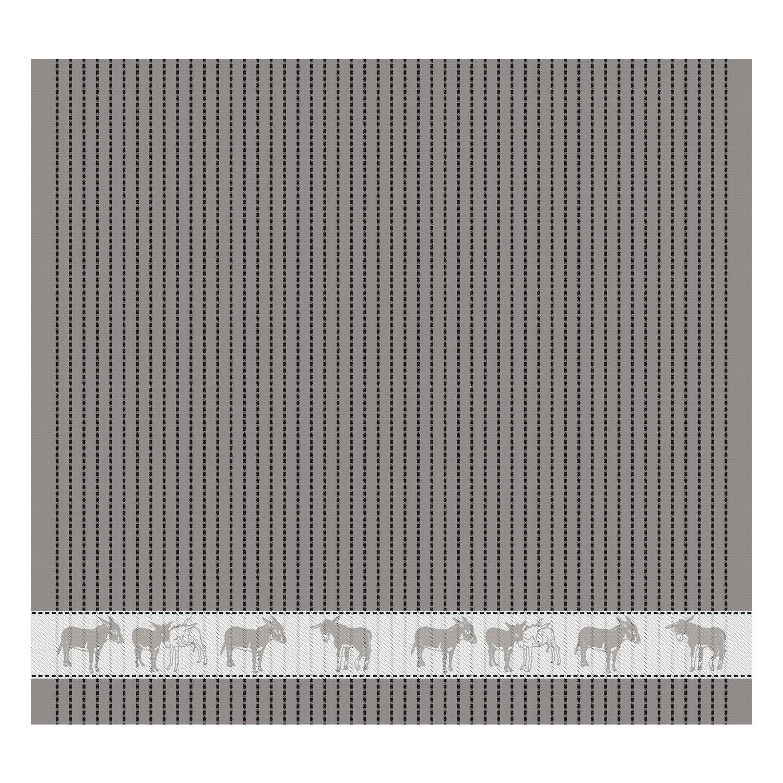 Theedoek Amigo   Grey   60 x 65 cm