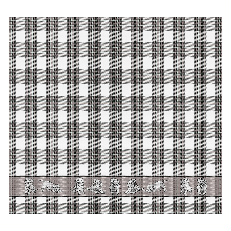 Theedoek Balou   Grey   60 x 65 cm
