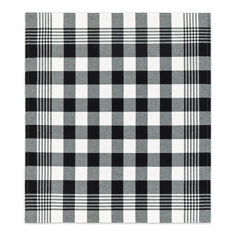 Theedoek Block | Black | 60 x 65 cm