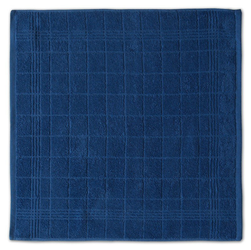 Keukendoek Block   Blue   50 x 55 cm