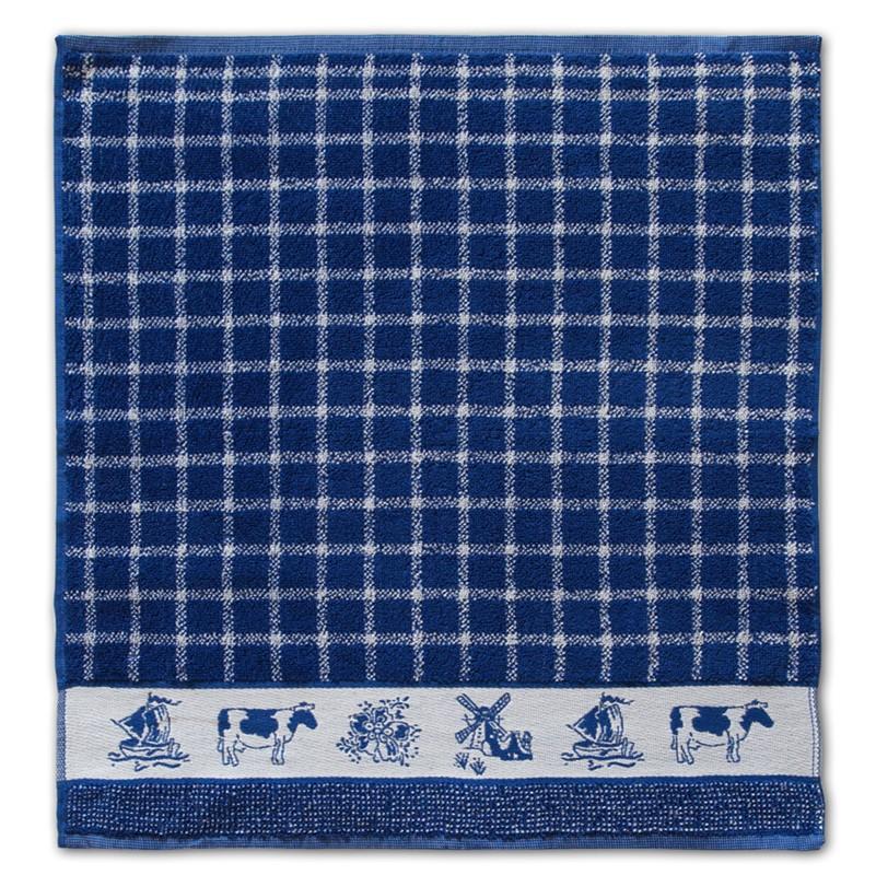 Keukendoek Dutchie | Blue | 50 x 55 cm