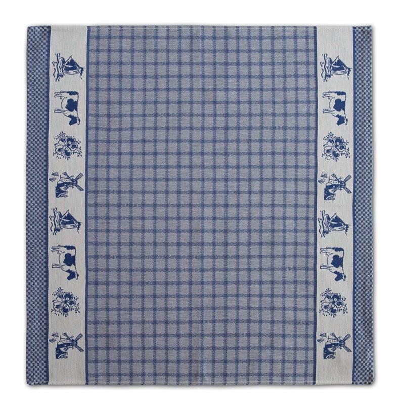 Theedoek Dutchie | Blue | 60 x 65 cm