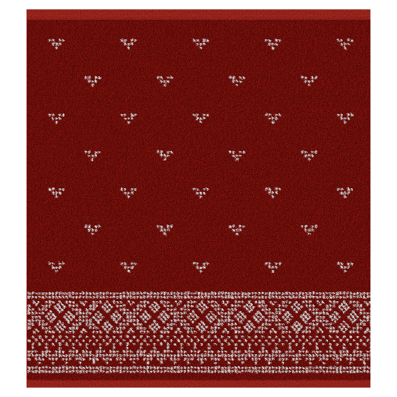 Keukendoek Fjord | Red | 50 x 55 cm