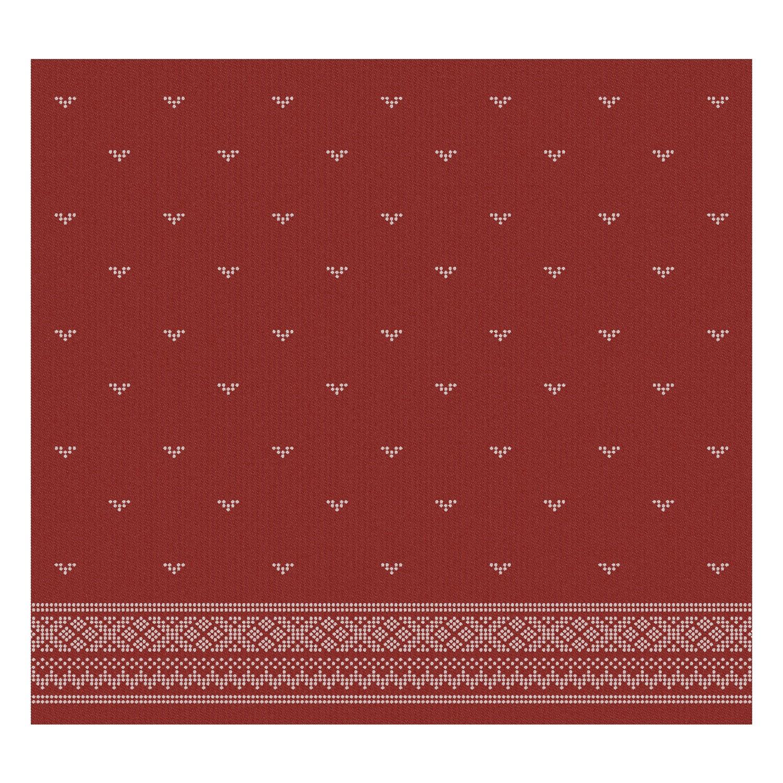 Theedoek Fjord | Red | 60 x 65 cm