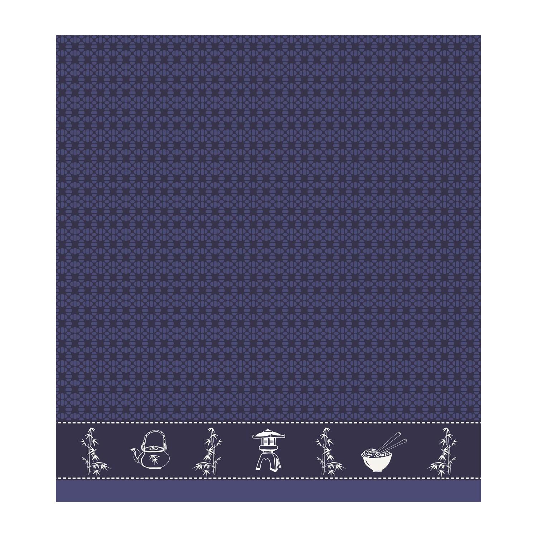 Keukendoek Haru | Indigo | 50 x 55 cm