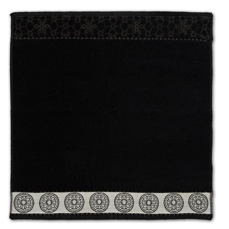 Keukendoek Lace | Black | 50 x 55 cm