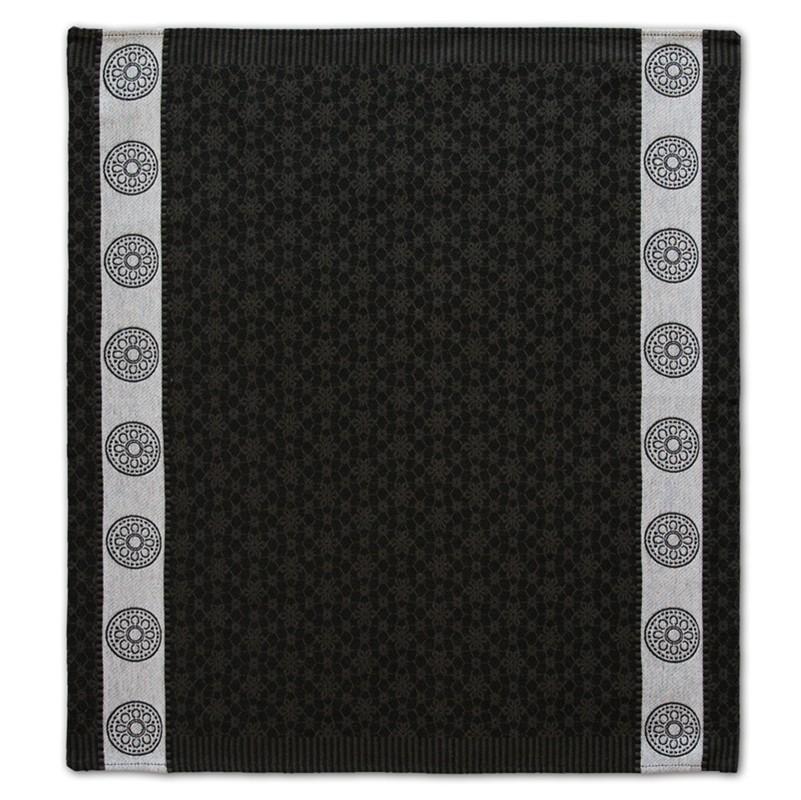 Theedoek Lace | Black | 60 x 65 cm