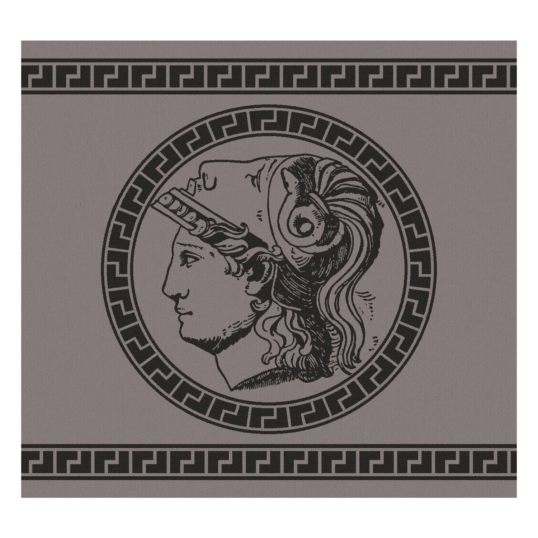 Theedoek Minerva | Grey | 60 x 65 cm