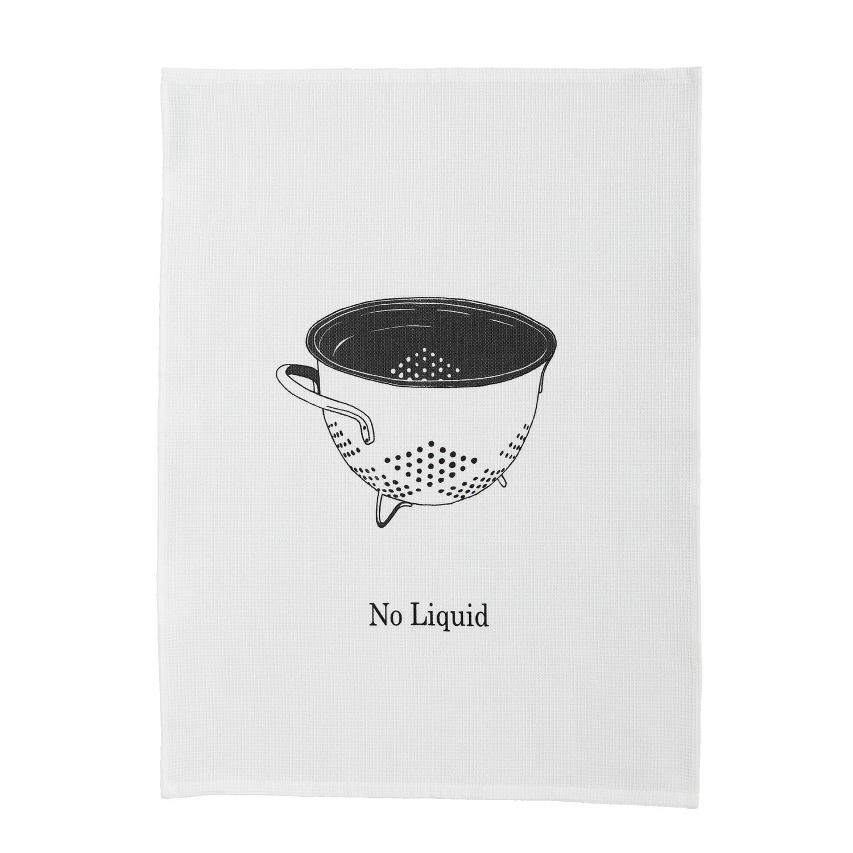 Theedoek No liquid | Wafelstructuur | White | 50 x 70 cm