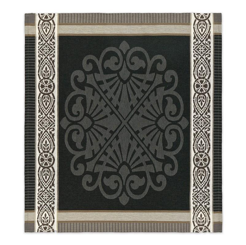Theedoek Rozet   Grey   60 x 65 cm
