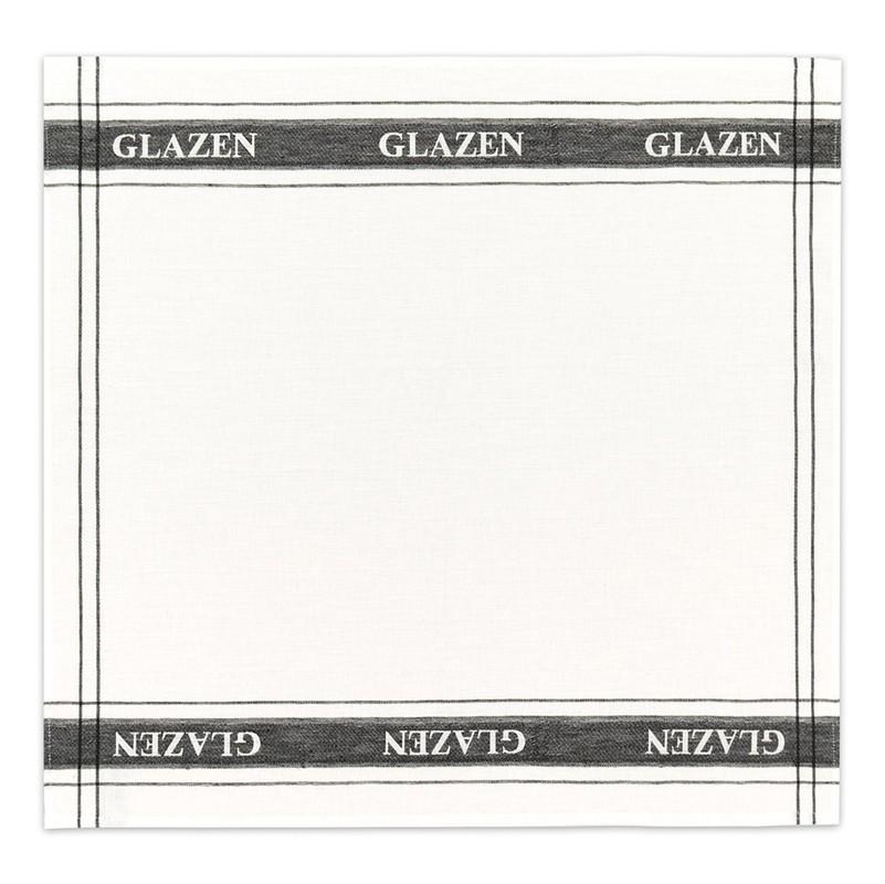 Theedoek Glazen | 50% linnen – 50% katoen | White | 60 x 65 cm