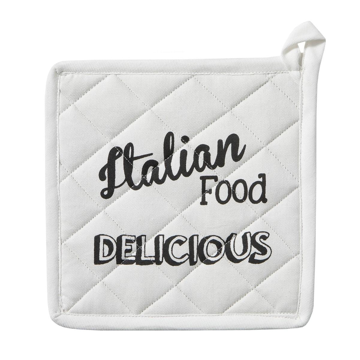 Pannenlap Italian Food | White | 20 x 20 cm