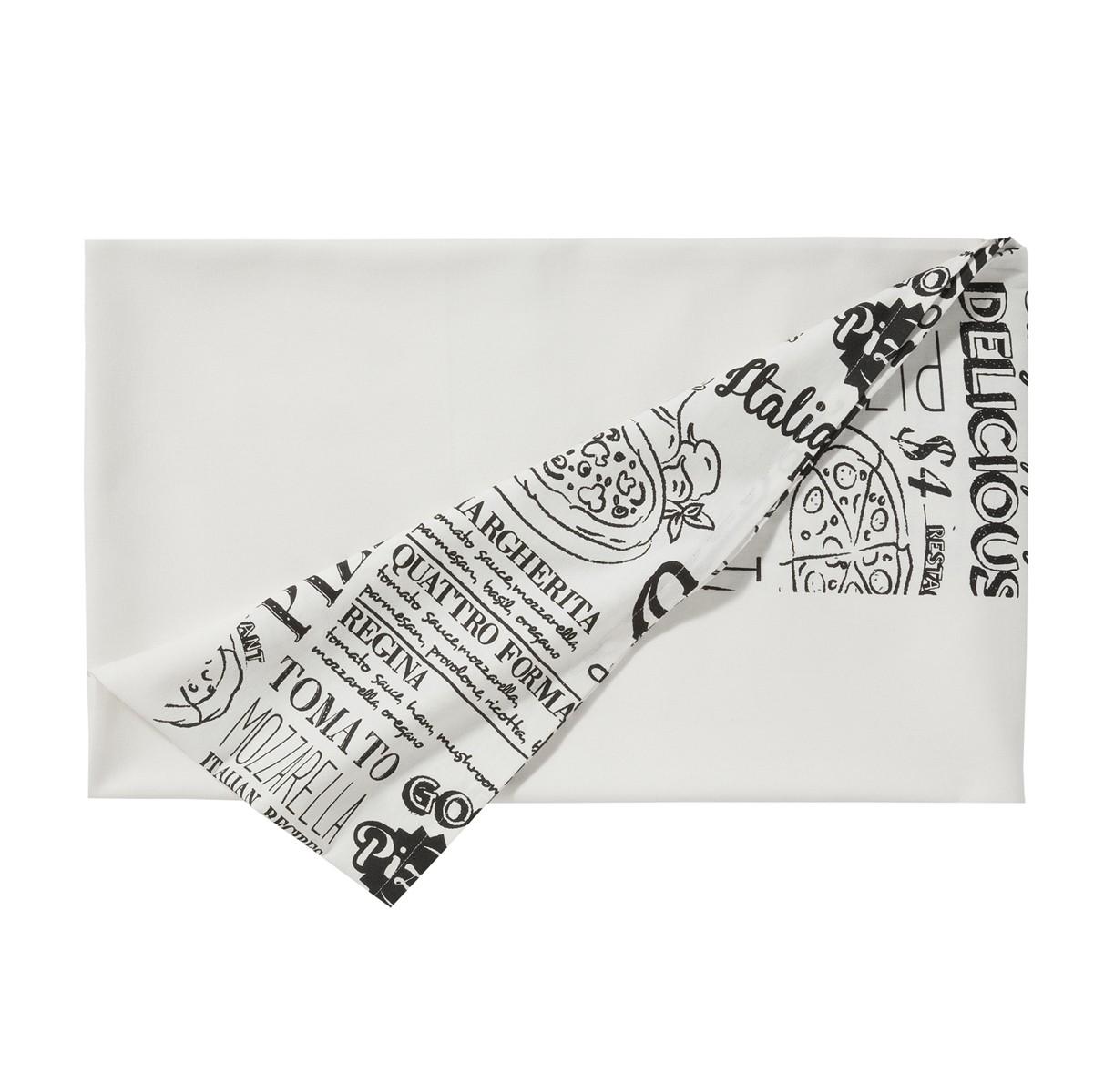 Tafelkleed Italian Food | White | 140 x 240 cm