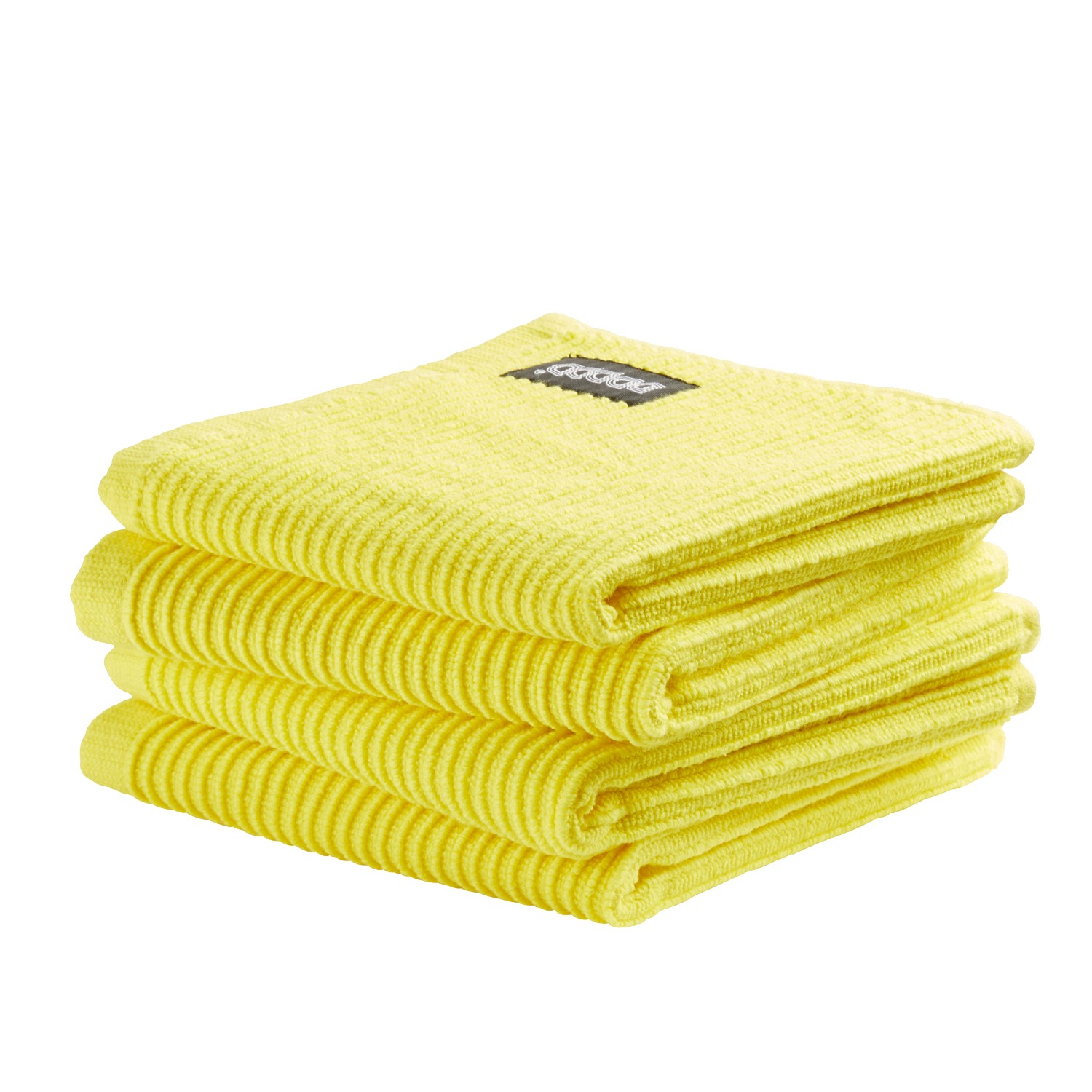 Vaatdoek Basic Clean | Bright yellow | 30 x 30 cm
