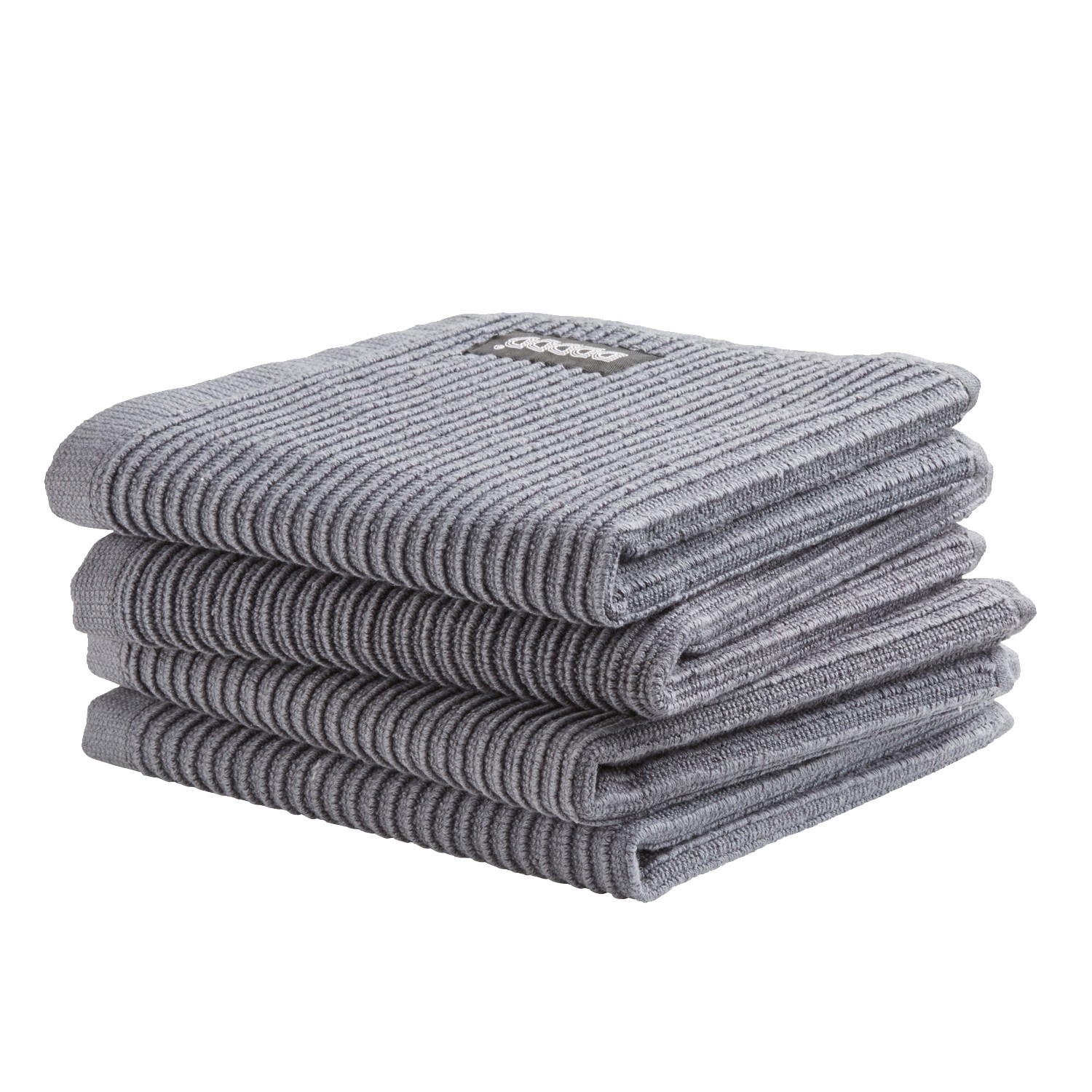 Vaatdoek Basic Clean | Neutral dark grey 30 x 30 cm