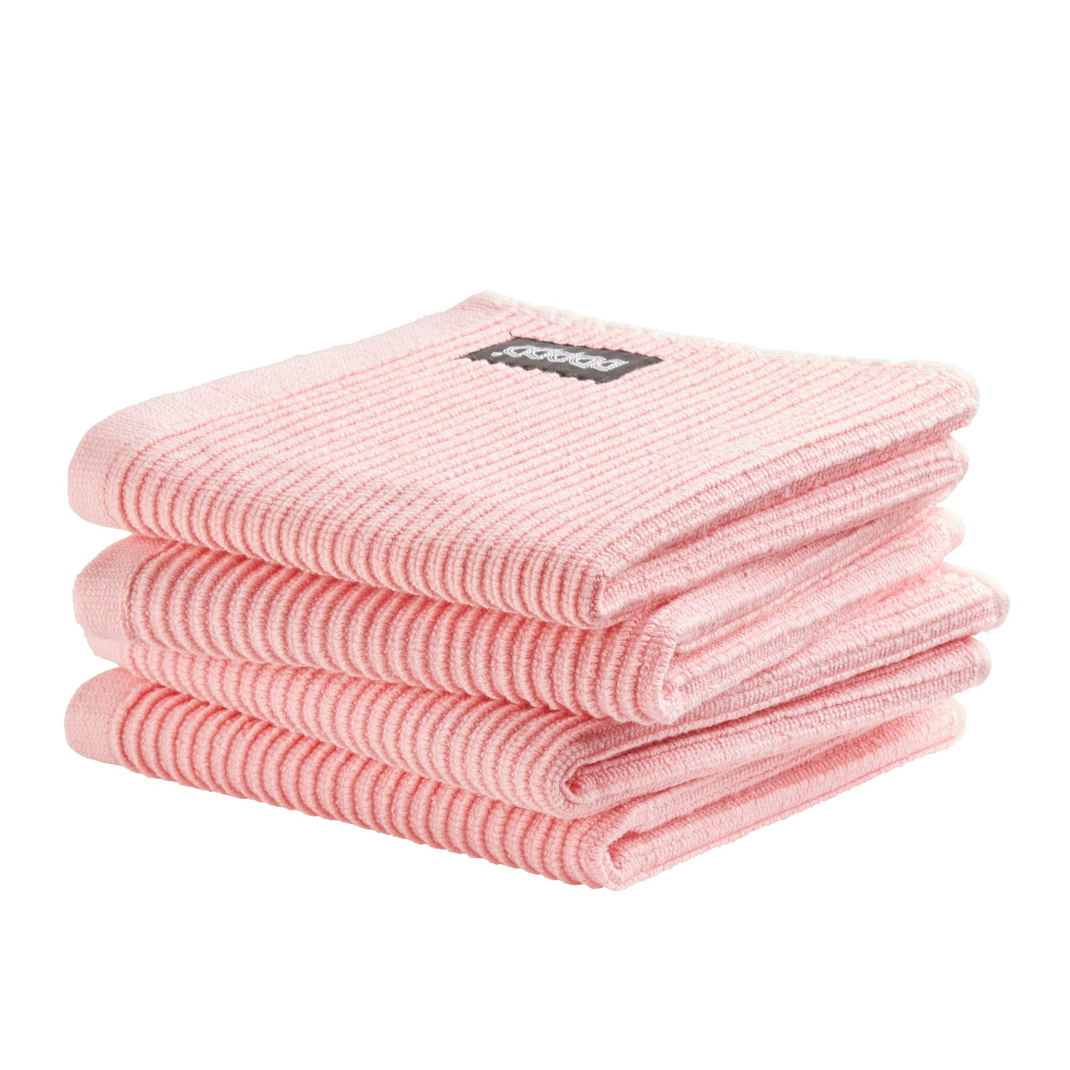 Vaatdoek Basic Clean | Pastel pink | 30 x 30 cm