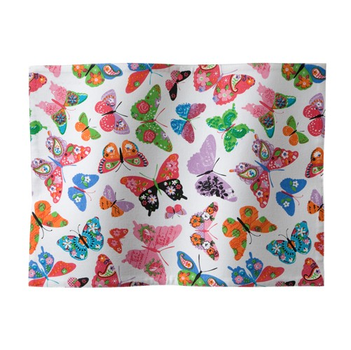 Placemat Butterfly | White | 35 x 45 cm