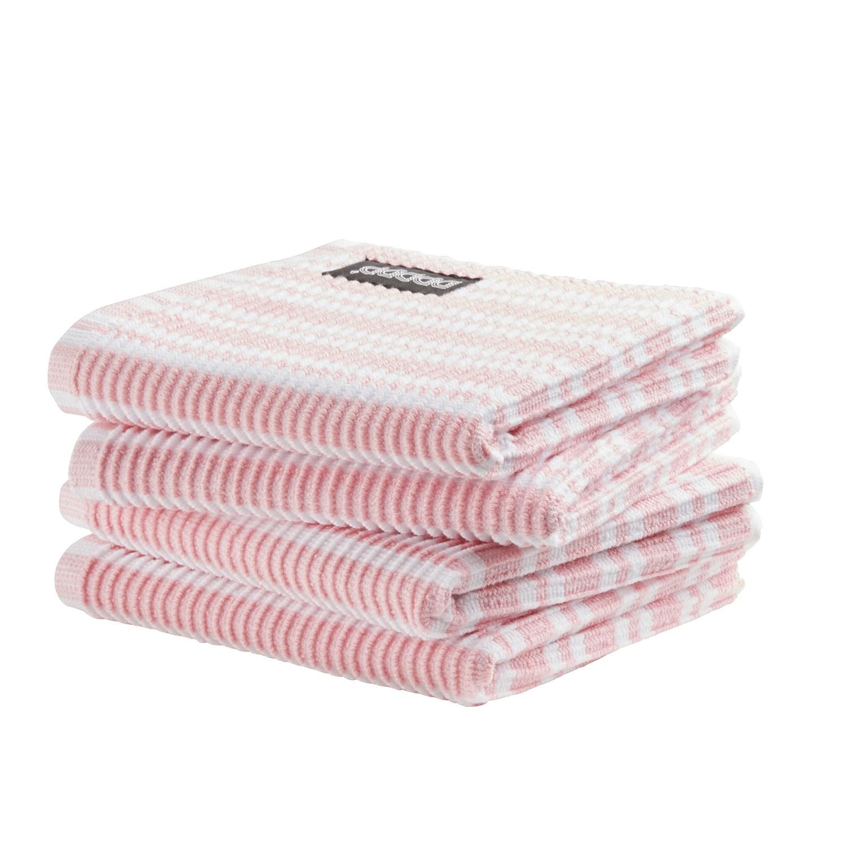 Vaatdoek Classic Clean | Pastel pink | 30 x 30 cm