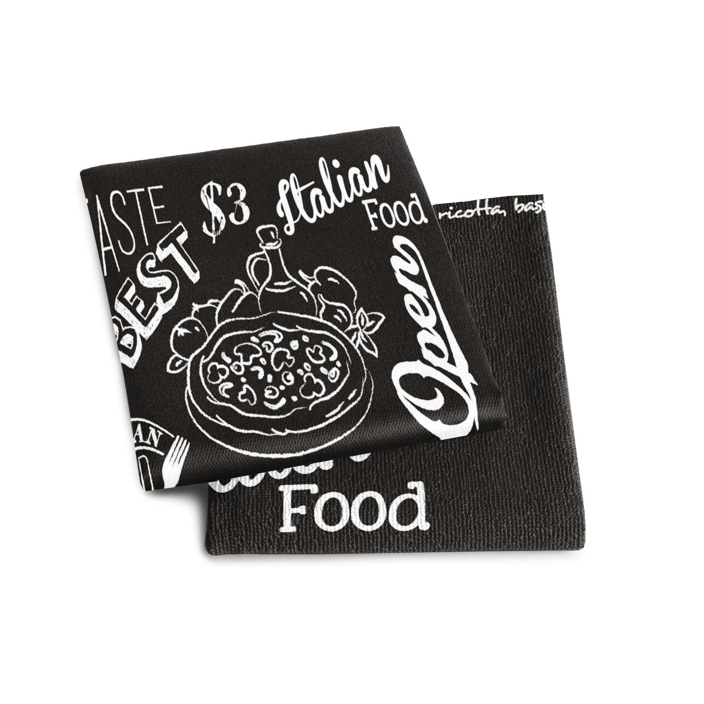 Keukenset Italian food | Black