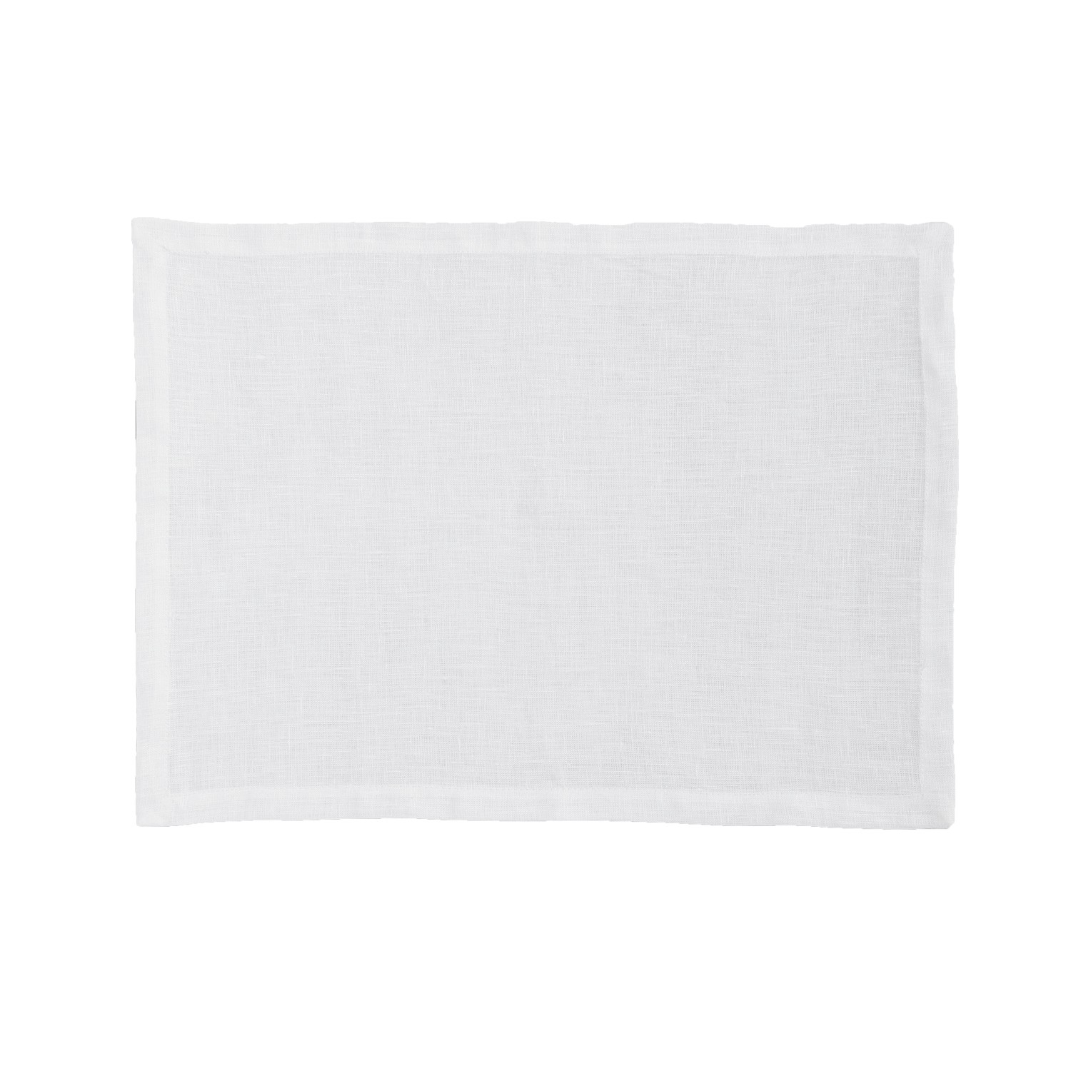 Placemat Cabin | Linnen | White | 50 x 35 cm