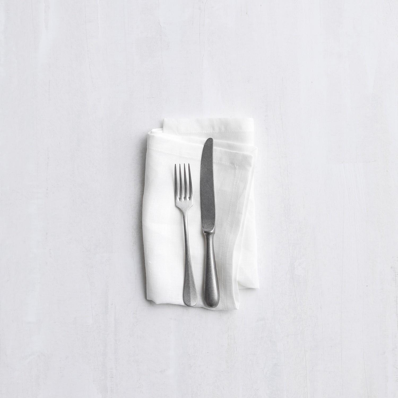Servetten Cabin | Linnen | White | 40 x 40 cm