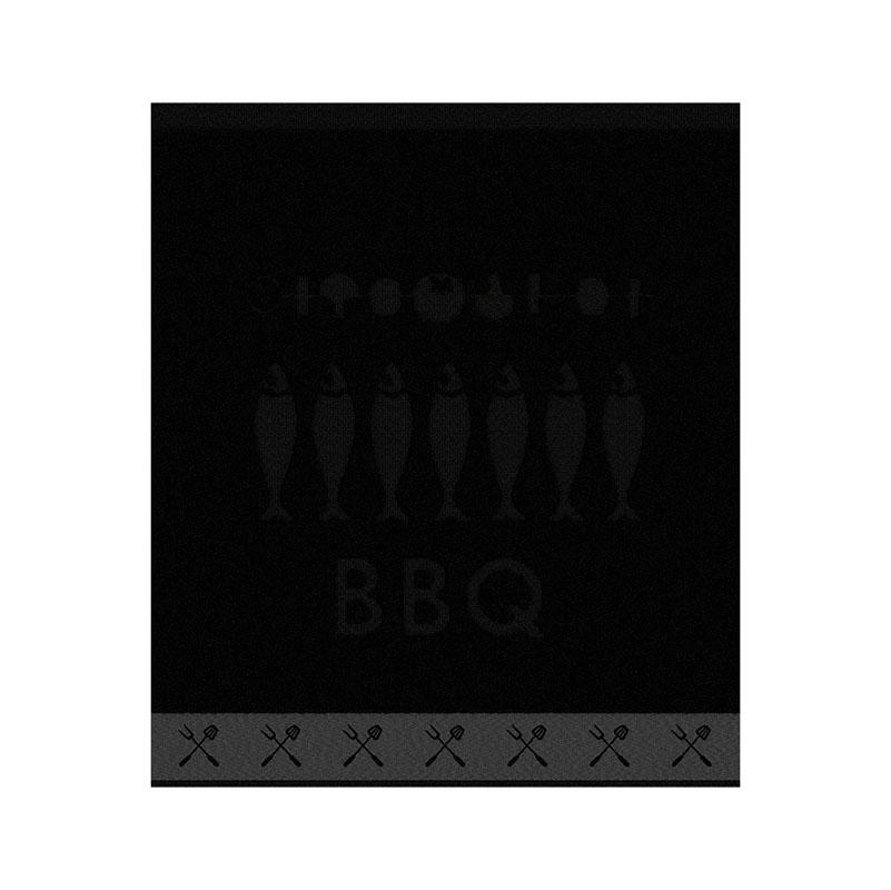Keukendoek Foodbar | Black | 50 x 55 cm