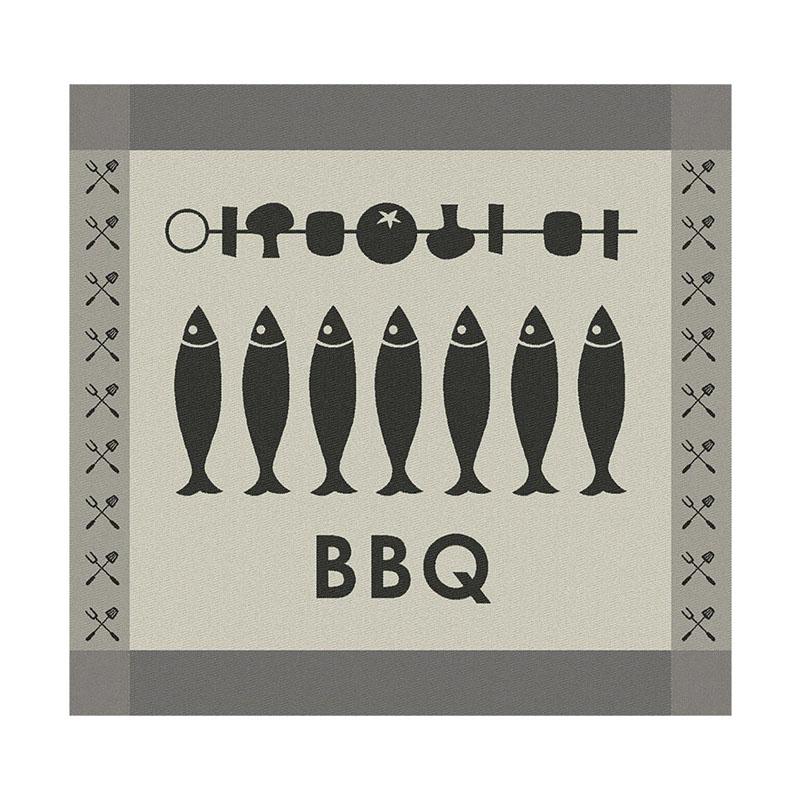 Theedoek Foodbar | Black | 60 x 65 cm