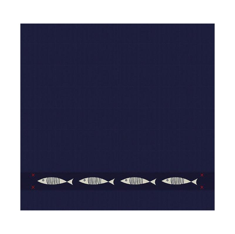 Theedoek Pescado | Blue | 60 x 65 cm