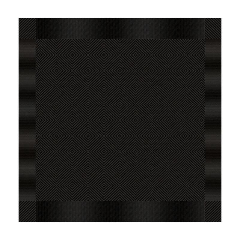 Theedoek Cisis | Ebony | 65 X 65 CM