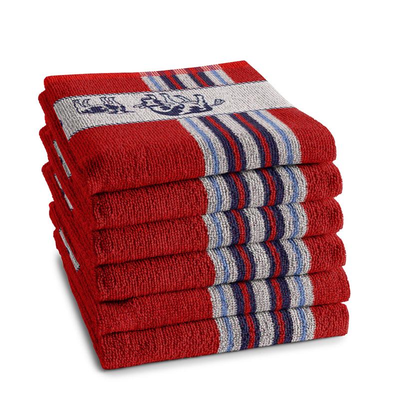 Keukendoek Friesian | Red | 65 x 65 CM