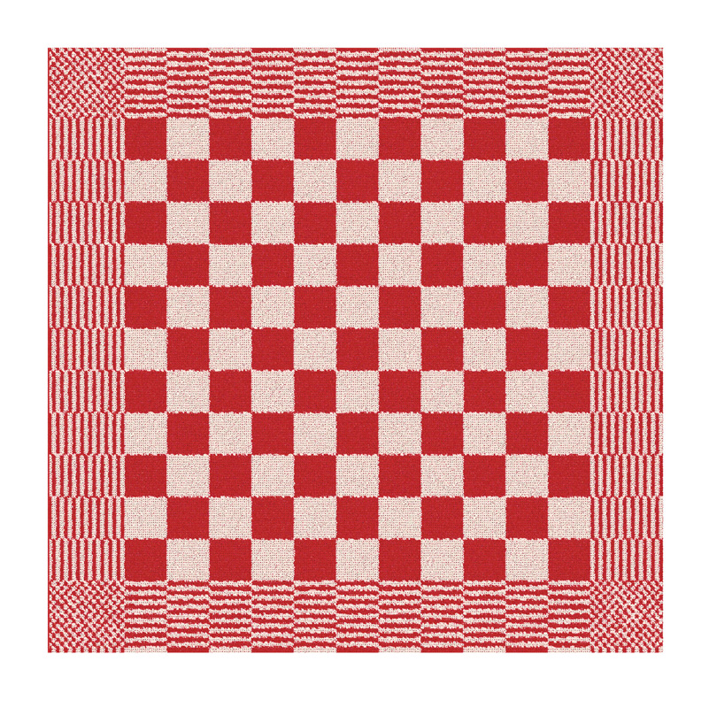 Keukendoek Barbeque | Red | 65 x 65 cm