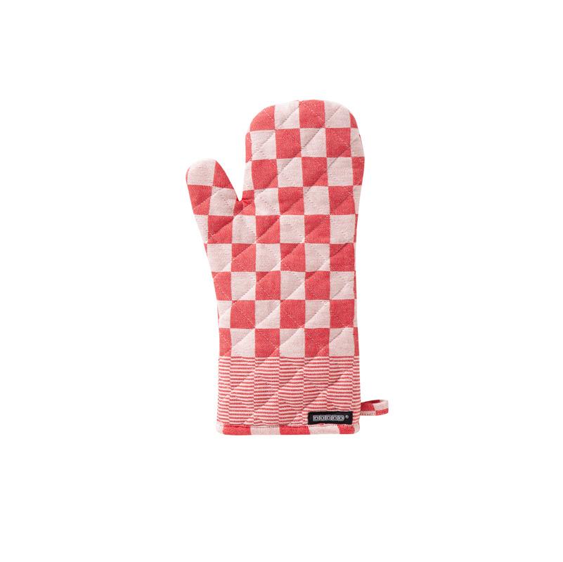 DDDDD Barbeque – Ovenwant – Katoen – Per 2 stuks – Red