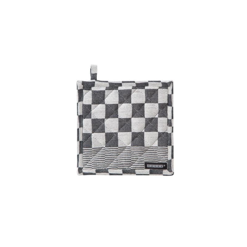 DDDDD Barbeque – Pannenlap – Katoen – Per 2 stuks – Black