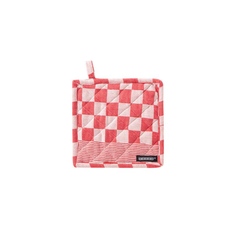 DDDDD Barbeque – Pannenlap – Katoen – Per 2 stuks – Red