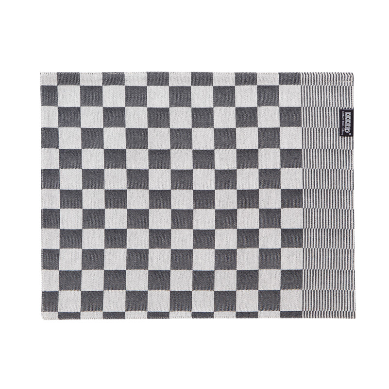 DDDDD Barbeque – Placemat – Katoen – Per 2 stuks – Black