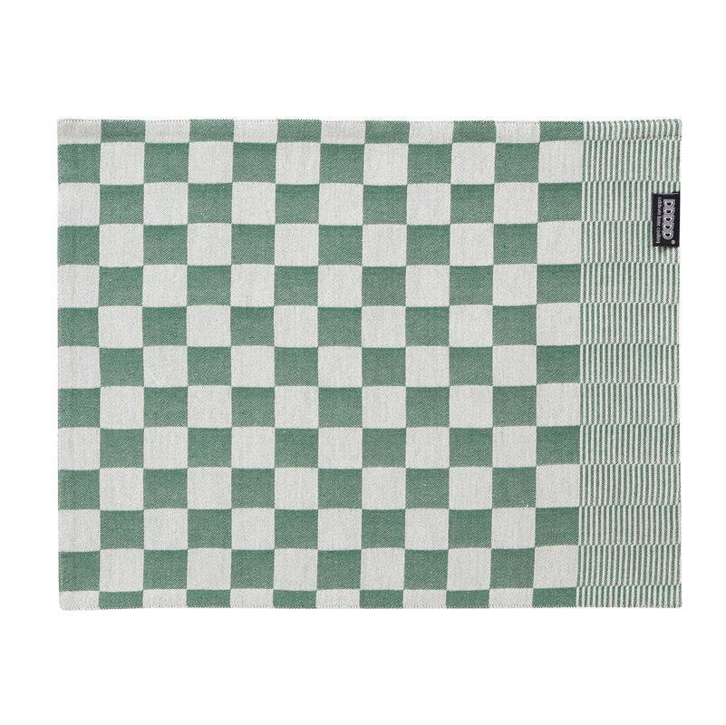 DDDDD Barbeque – Placemat – Katoen – Per 2 stuks – Green