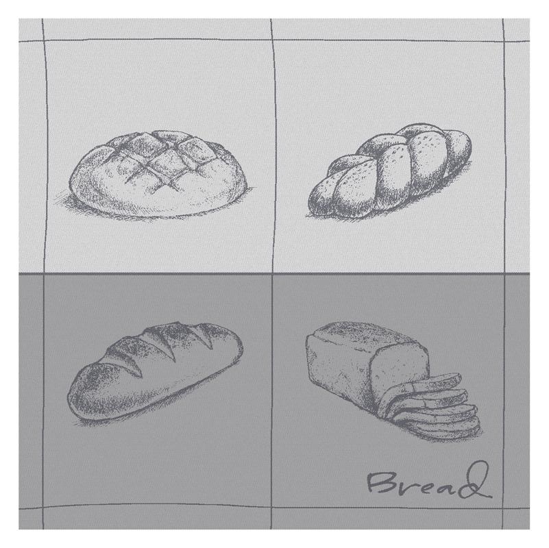 Theedoek Bread | Grey | 60 x 65 cm