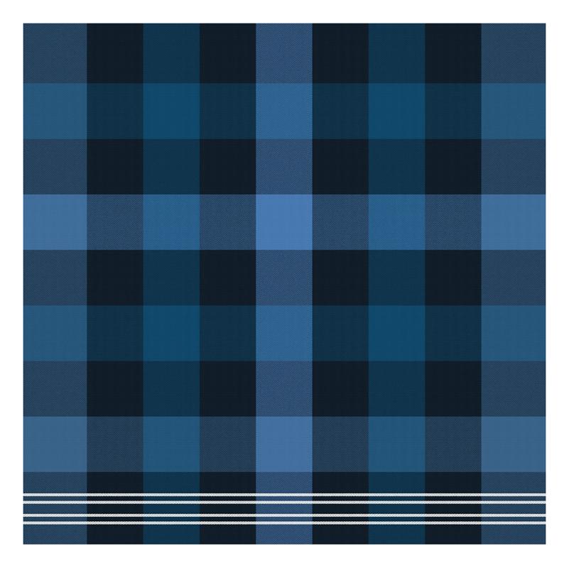 Theedoek Feller | Blue | 60 x 65 cm
