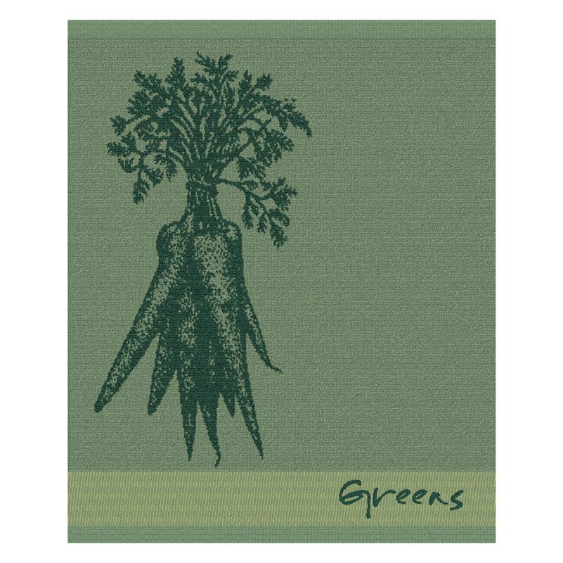 Keukendoek Greens | Green | 50 x 55 cm