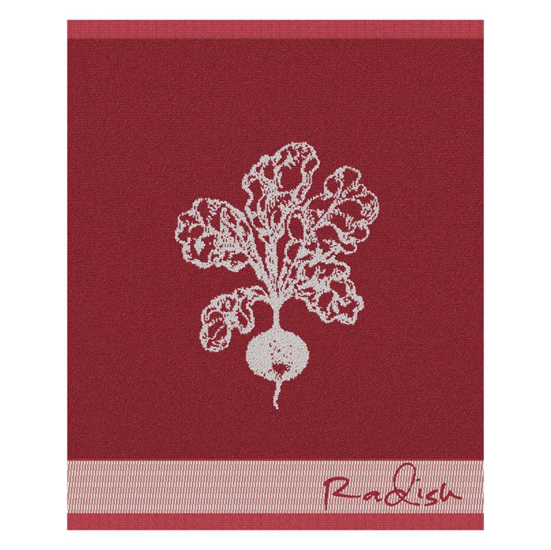 Keukendoek Radish | Autumn Red | 50 x 55 cm