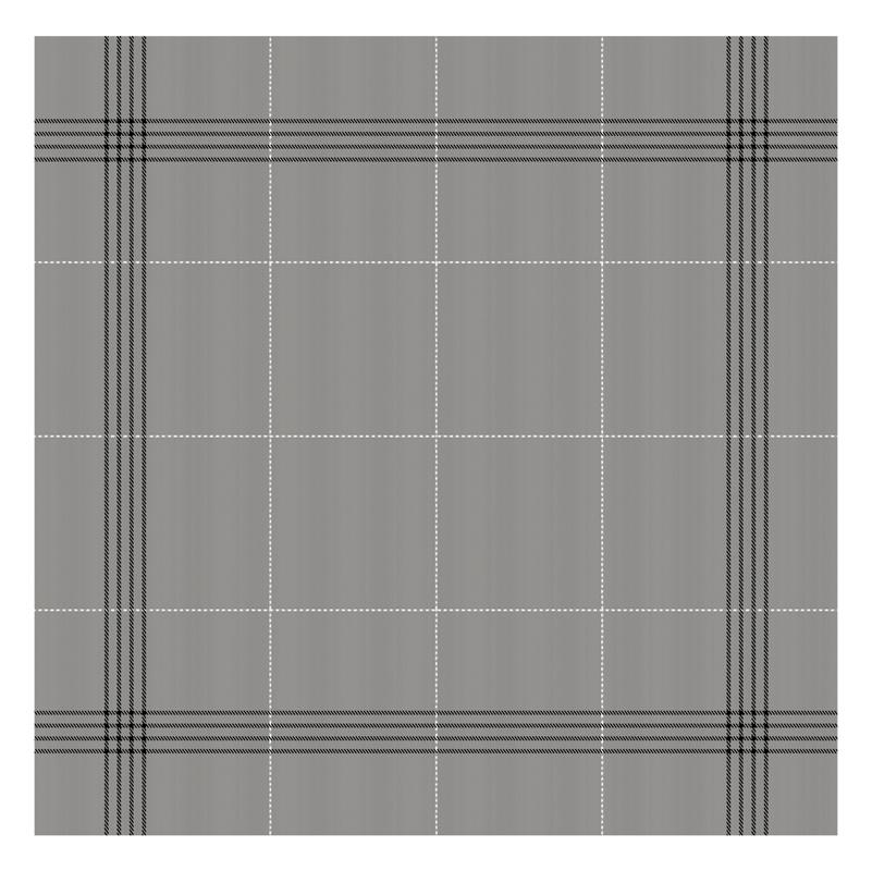 Theedoek Morvan   Grey   60 x 65 cm