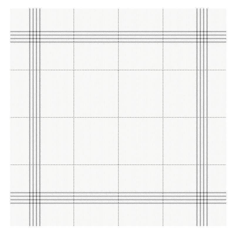 Theedoek Morvan   White   60 x 65 cm